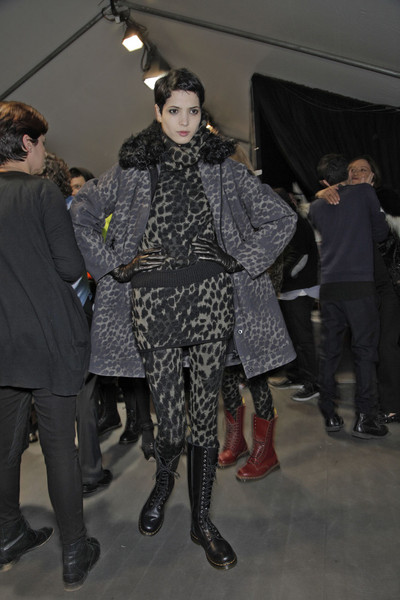 Moncler Gamme Rouge Fall 2011 - Backstage