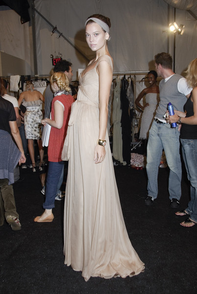 Monique Lhuillier Spring 2008 - Backstage