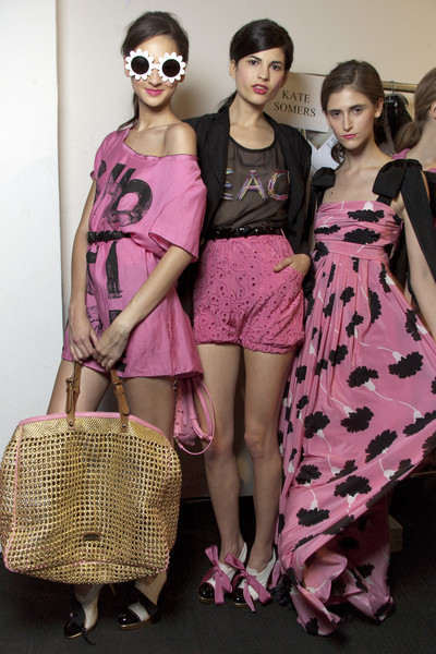 Moschino Cheap & Chic Spring 2010 - Backstage