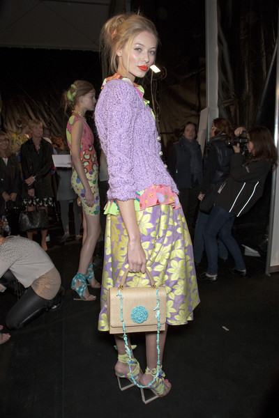 Moschino Cheap & Chic Spring 2011 - Backstage