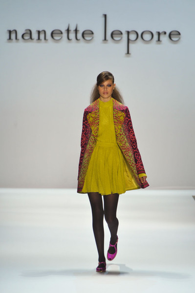 Nenette Lepore at New York Fall 2012