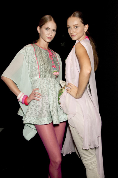 New Upcoming Designers at Milan Spring 2010 (Backstage)