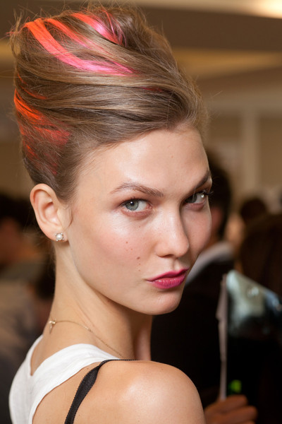 Oscar de la Renta at New York Spring 2013 (Backstage)