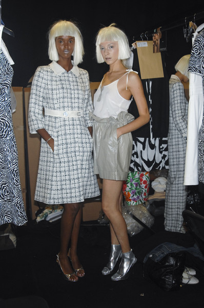 Paul Costelloe Spring 2008 - Backstage