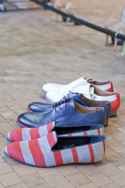 Paul Smith Spring 2013 - Backstage