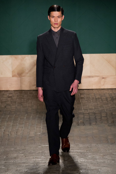 Perry Ellis By Duckie Brown at New York Fall 2013