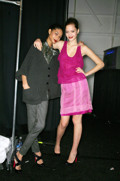 Peter Som Fall 2007 - Backstage