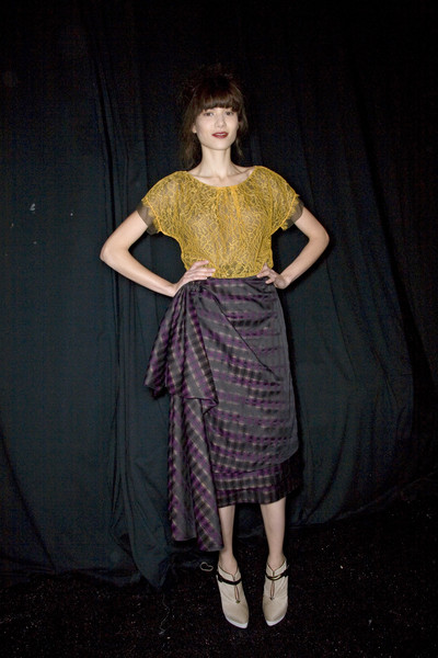Peter Som Fall 2008 - Backstage