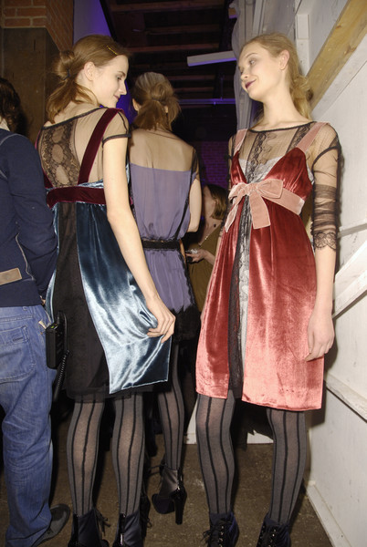 Philosophy di Alberta Ferretti at New York Fall 2008 (Backstage)
