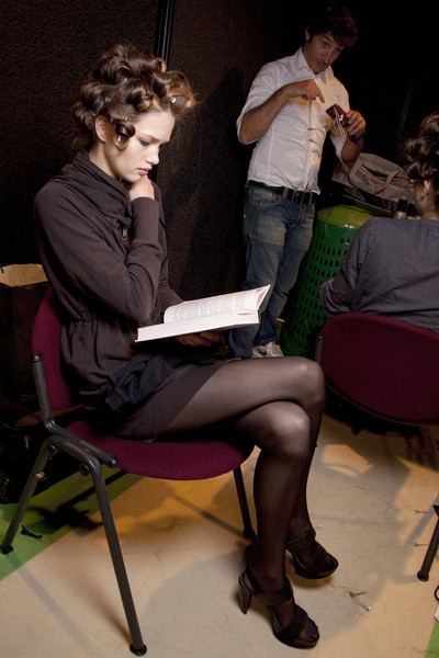 Pin Up Stars Spring 2010 - Backstage