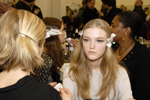 Prada Fall 2007 - Backstage