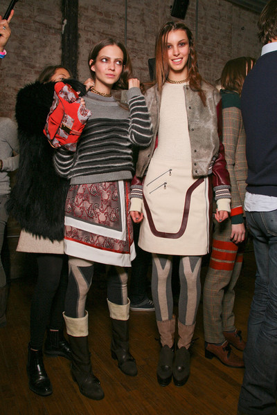 Rag & Bone Fall 2011 - Backstage