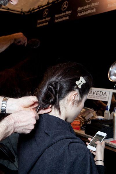 Richard Chai Love Fall 2012 - Backstage
