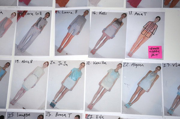 Richard Nicoll Spring 2009 - Backstage