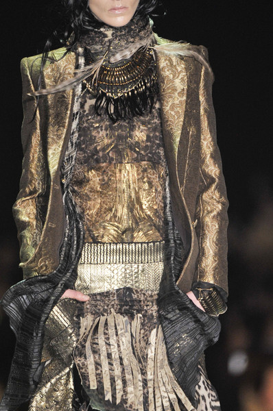 Roberto Cavalli at Milan Fall 2011 (Details)