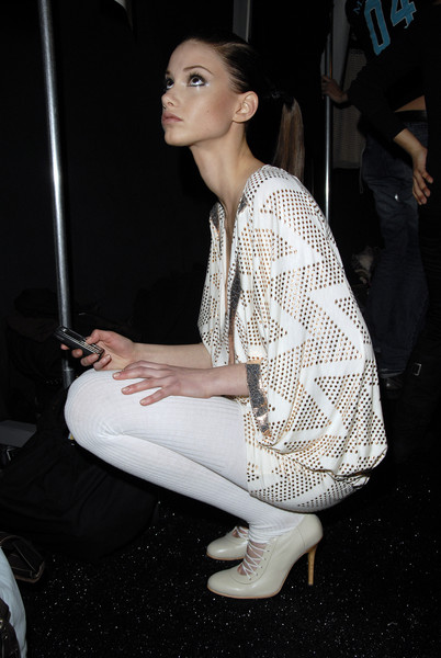 Sass & Bide Fall 2007 - Backstage