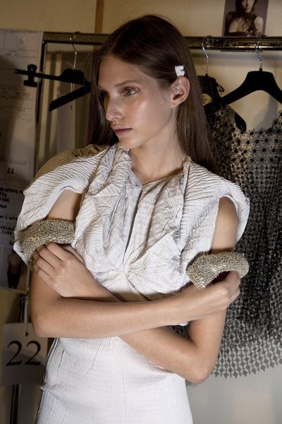 Sharon Wauchob Spring 2010 - Backstage