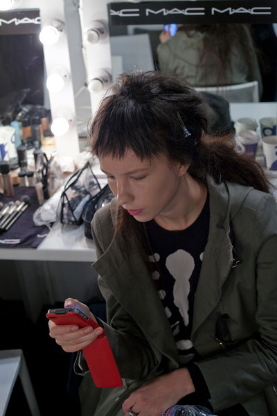 Simone Rocha at London Spring 2013 (Backstage)
