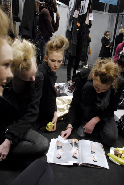 Sportmax at Milan Fall 2008 (Backstage)