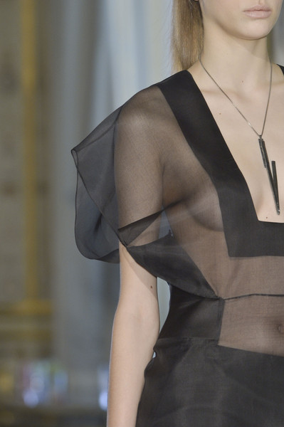 Steffie Christiaens at Paris Fall 2013 (Details)