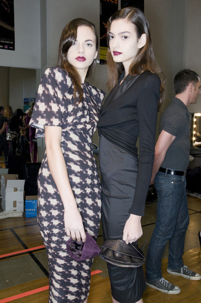 Talbot Runhof Fall 2009 - Backstage