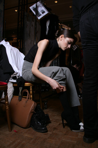 Talbot Runhof Fall 2011 - Backstage