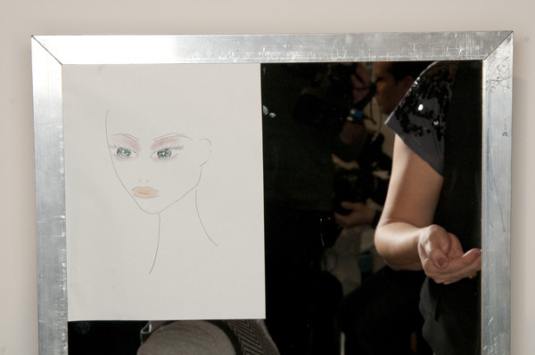 Ter et Bantine Fall 2009 - Backstage