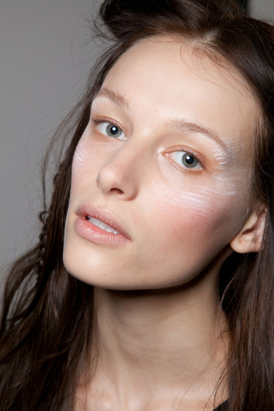 Tess Giberson at New York Spring 2013 (Backstage)
