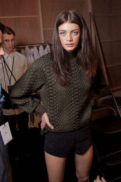 Topshop Unique Fall 2012 - Backstage