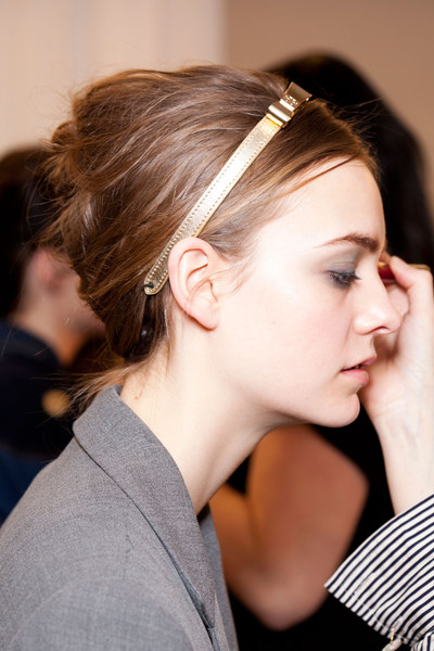 Tory Burch Fall 2012 - Backstage
