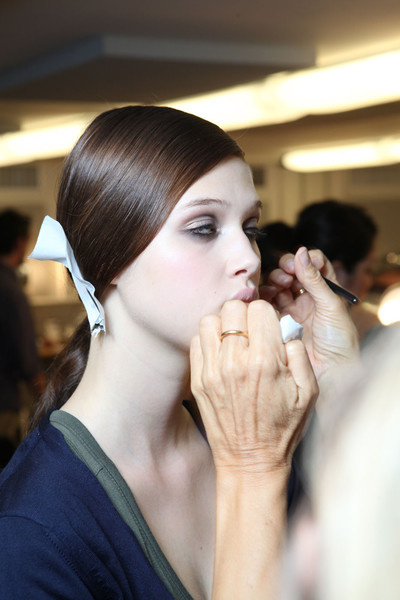 Tory Burch Spring 2012 - Backstage