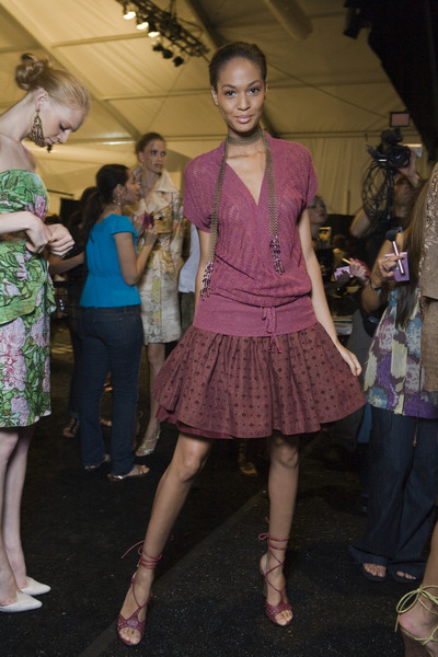 Tracy Reese at New York Spring 2009 (Backstage)