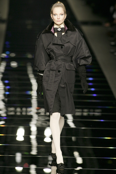 Valentin Yudashkin at Milan Fall 2008