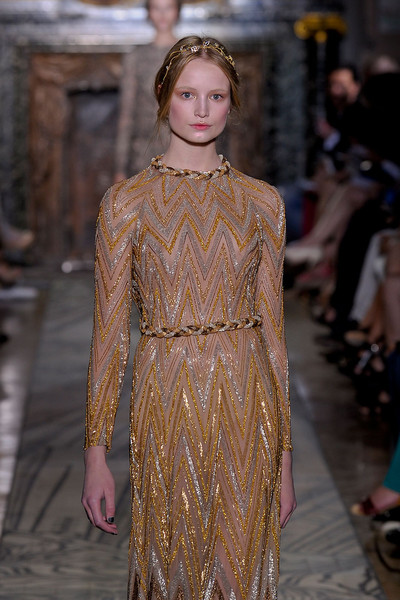Valentino at Couture Fall 2011