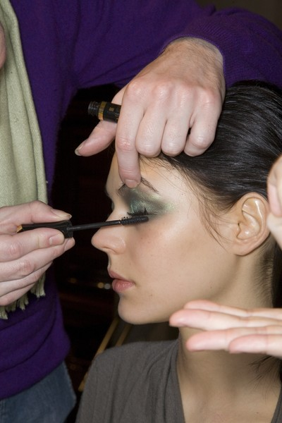 Valentino at Couture Spring 2009 (Backstage)