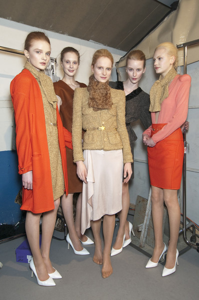 Véronique Leroy at Paris Fall 2010 (Backstage)