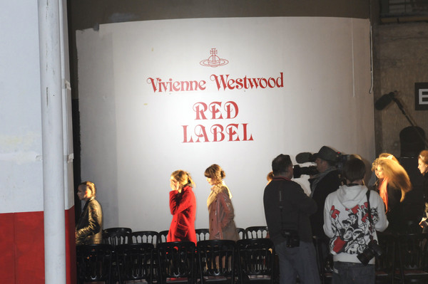 Vivienne Westwood Red Label Fall 2008 - Backstage