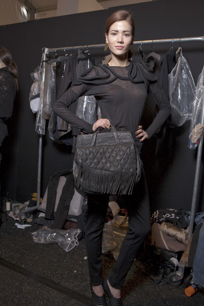 Yigal Azrouël at New York Fall 2010 (Backstage)