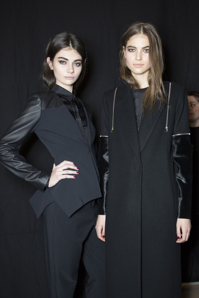 Yigal Azrouël Fall 2013 - Backstage