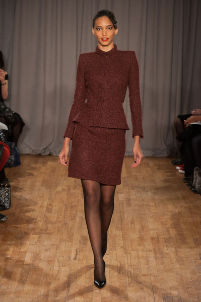 Zac Posen at New York Fall 2014