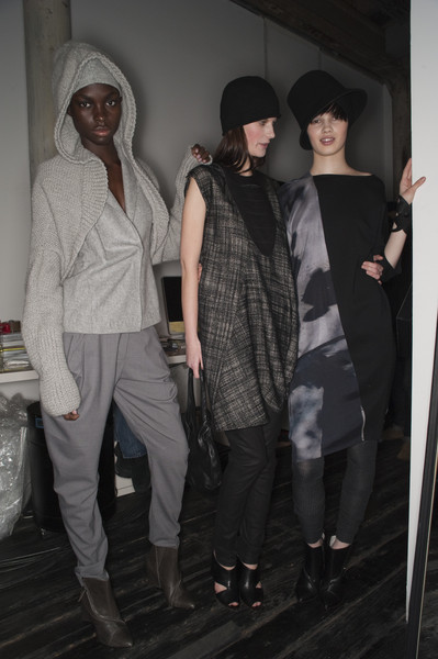 Zero + Maria Cornejo Fall 2010 - Backstage