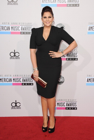 HIllary Scott at the 2012 AMAs