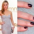 Julia Stiles' Plum Perfect Polish