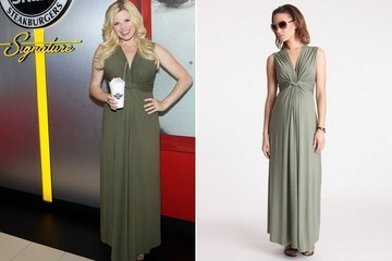 Found: Megan Hilty's Maternity Maxi Dress