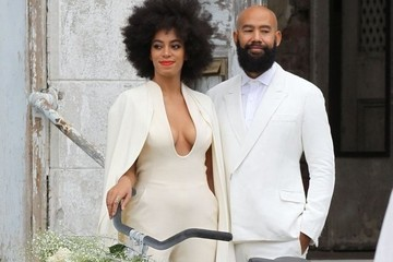 Solange Knowles Gets Married and Redefines Bridal Wear