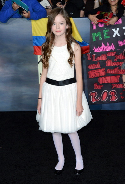 Mackenzie Foy at 'The Twilight Saga: Breaking Dawn - Part 2' Premiere in Los Angeles