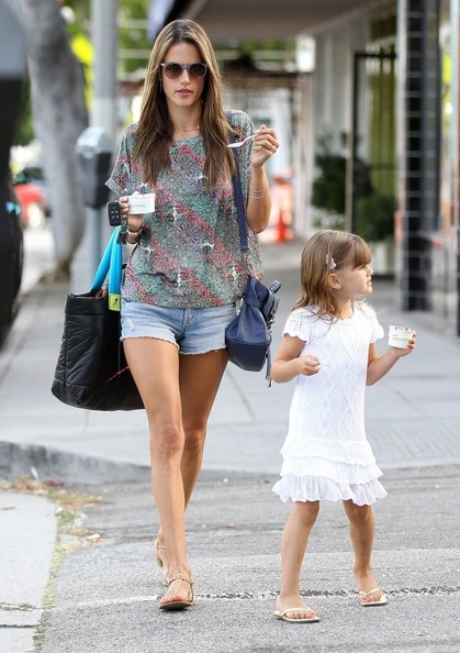 Alessandra Ambrosio Is a Fan of Whitney Port's Clothing Line