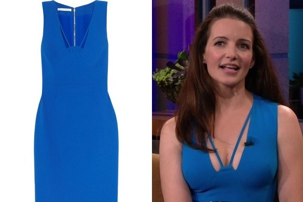 Kristin Davis' Dress on 'The Tonight Show With Jay Leno'