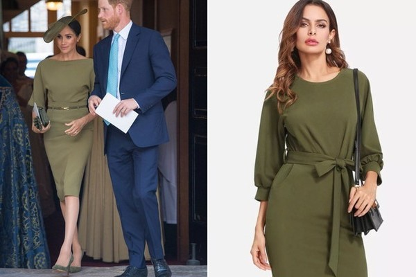 The Look: Olive Dress ($19)