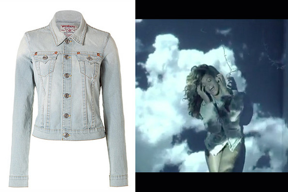 Rihanna's Bleached Denim Jacket from 'We Found Love'